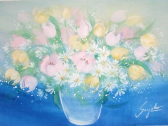 花の絵ファンタジック水彩画さんの作品