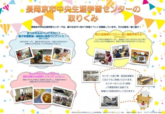 長岡京市中央生涯学習センターの取りくみ(2017.8.23)